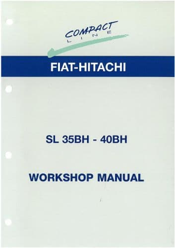 New Holland Skid Steer Loader LS140 & LS150 Workshop Service Manual - Fiat Kobelco - Same as Fiat