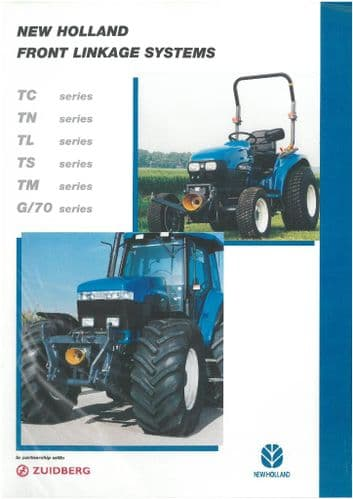 New Holland Tractor Front Linkage Systems Brochure