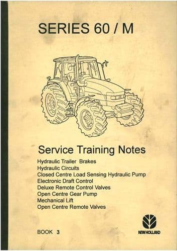 New Holland Tractor Series 60 / M Hydraulic System With Electronic Draft Control Manual
