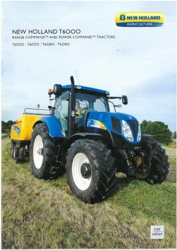 New Holland Tractor T6050 T6070 T6080 T6090 Brochure