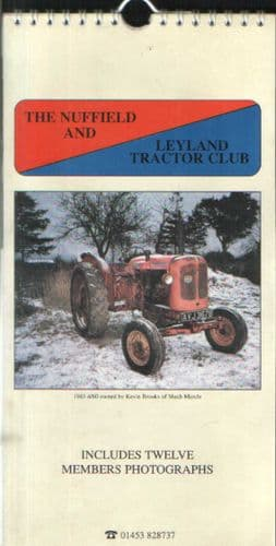 Nuffield and Leyland Tractor 1998 Calendar