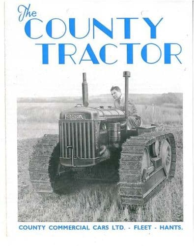 The County Tractor Brochure
