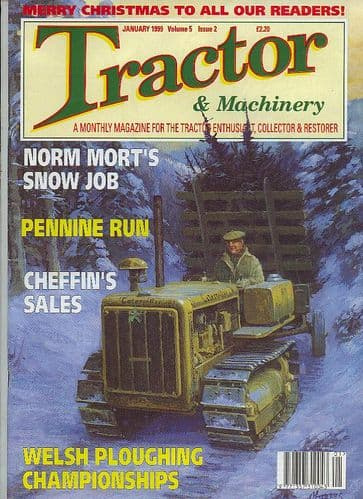 Tractor and Machinery - January 1999