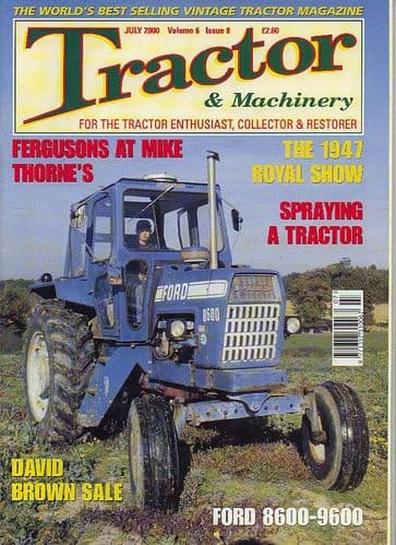 Tractor and Machinery -July 2000
