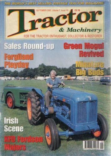 Tractor & Machinery Magazine - September 2001 - ad