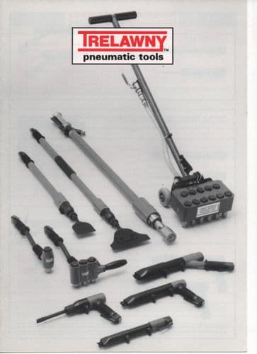 Trelawny Pneumatic Tools-Needle/Chisel Scalers, Chisels, Scabblers/Scaling Hammers, Planer Brochure