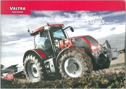 Valtra Tractor S Series S232 S262 S292 S322 S352 Brochure - Ploughing