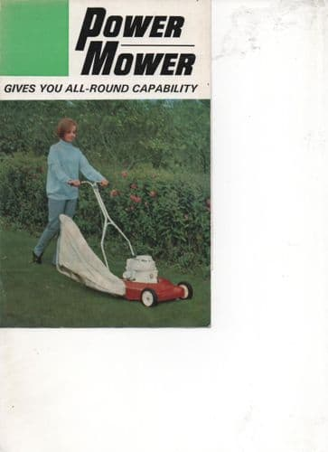 "Watveare Fahr Power Mower - 18"", 20"", 22"" Brochure"