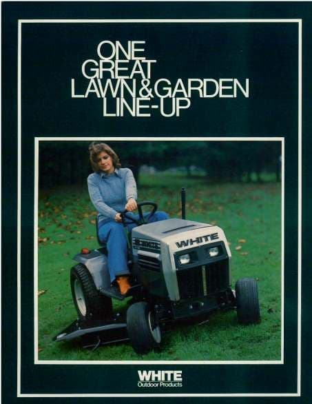 White One Great Lawn & Garden Line-Up Brochure