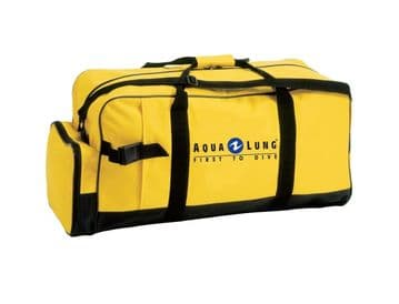 Aqualung Classic Yellow Dive Duffle Bag.