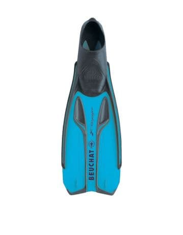 Beuchat X Voyager Fins Electric Blue