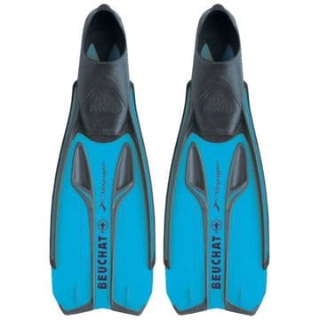Beuchat X- Voyager Fins Electric Blue