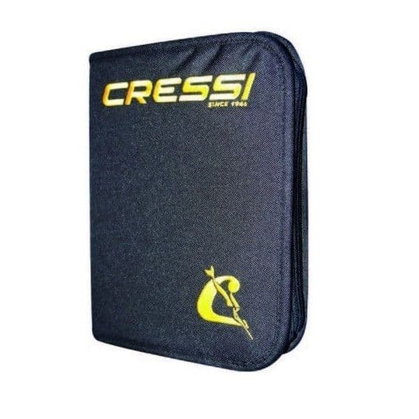 Cressi 3 Ring  Dive Log Binder with Log Pages