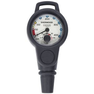 Sherwood 400 Bar Contents Gauge with Hose