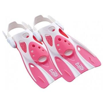 Tusa UF-0103 Short Snorkelling Fin PINK