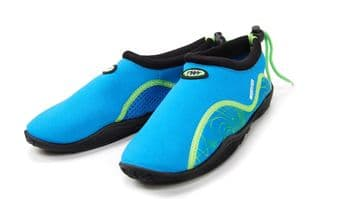 TWF Adult Weever Beach Shoes Blue Weather Map