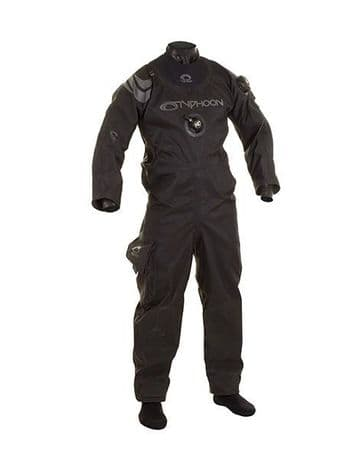 Typhoon Spectra BACK ENTRY Diving Drysuit with socks