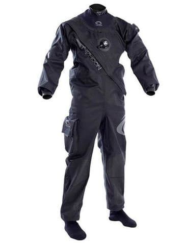 Typhoon Spectra FRONT ENTRY Diving Drysuit with socks