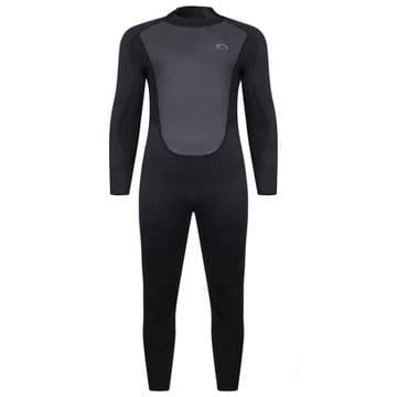 Typhoon Storm3  Youths Wetsuit Black/Graphite