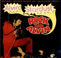 Alvin Stardust - Rock With Alvin (MAG 5007) Gatefold Sleeve + Poster