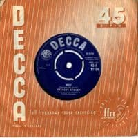 Anthony Newley - Why/Anything You Wanna Do (F 11194)
