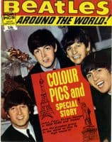 Beatles,The - Around The World - Rare 1964 Magazine