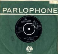 Beatles,The - I Want To Hold Your Hand/This Boy (R 5084) Contract Pressing