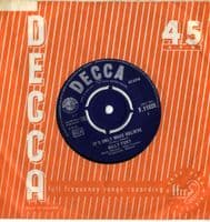 Billy Fury - It's Only Make Believe/Baby What You Want Me To Do (F 11939)