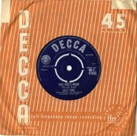 Billy Fury - Once Upon A Dream/If I Lose You  (F 11485)