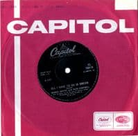 Bobbie Gentry and Glen Campbell - All I Have To Do Is Dream/Walk Right Back (CL 15619) M-