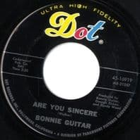 Bonnie Guitar - Are You Sincere/That Tallest Tree (16919)