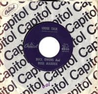 Buck Owens and Rose Maddox - Loose Talk/Mental Cruelty (4550)