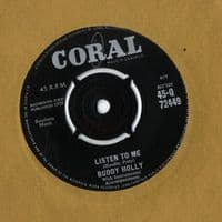 Buddy Holly - Listen To Me/Words Of Love (Q 72449)