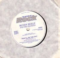 Buddy Holly - That'll Be The Day/True Love Ways (HR 001)
