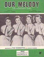 Chordettes, The - Our Melody