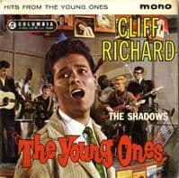 Cliff Richard - Hits From The Young Ones (SEG 8159) Black Label