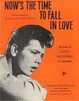 Cliff Richard - Now's The Time To Fall In Love - Mint