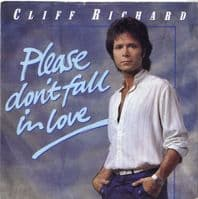 Cliff Richard - Please Don't Fall In Love/Too Close To Heaven (5437)