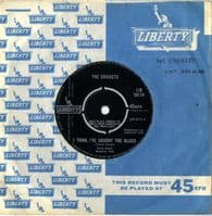 Crickets,The - I Think I've Caught The Blues/We Gotta Get Together (10174)