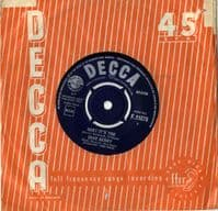 Dave Berry - Baby It's You/Sweet And Lovely  (F 11876)