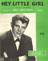Del Shannon - Hey Little Girl