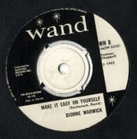 Dionne Warwick - Make It Easy On Yourself/Knowing When To Leave (WN 8)