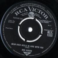 Don Gibson - Head Over Heels In Love With You/It Was Worth It All (1335)