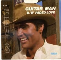 Elvis Presley - Guitar Man/Faded Love (PB 12158) Ex/M-
