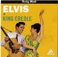 Elvis Presley - King Creole (Film) Daily Mail DVD