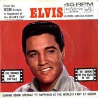 Elvis Presley - One Broken Heart For Sale/They Remind Me Too Much Of You (47-8134) VG+/M-