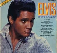 Elvis Presley - Return To Sender (CDS 1200) With Poster