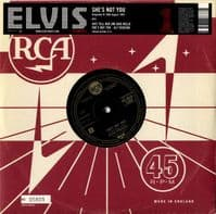Elvis Presley - She's Not You//Just Tell Her Jim Said Hello (1303) 10