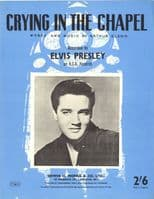 Elvis Presley - Sheet Music - Crying In The Chapel