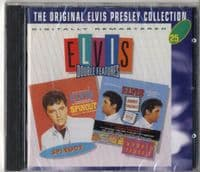 Elvis Presley - Spinout - Double Trouble - Double Features CD - New/Sealed